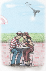 Waldo Heart Carmen by LemonBirdie