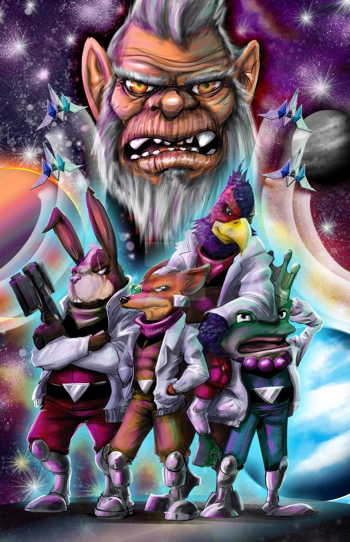 Star Fox by inkycharland