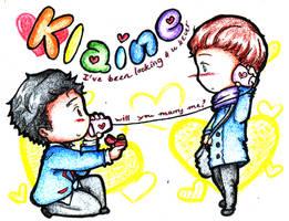 glee: Klaine - Will you...? by bakahouken