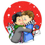 glee: Klaine Christmas