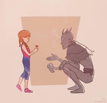 Meg and Wraith
