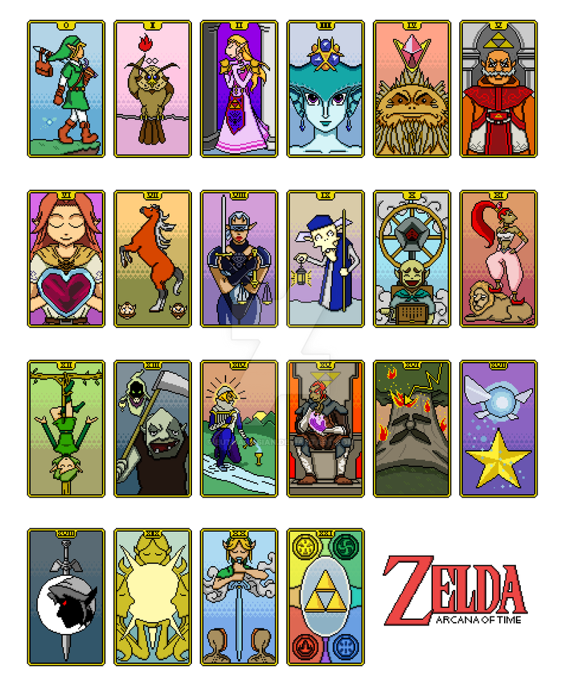 The Legend of Zelda: Arcana of Time by euthanasian