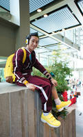 Dance Central 2 Cosplay: Glitch (Street-Style)