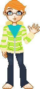 Self Pixelated Portrait