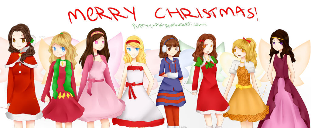 Christmas Fairies by Puffy-Lupin ...