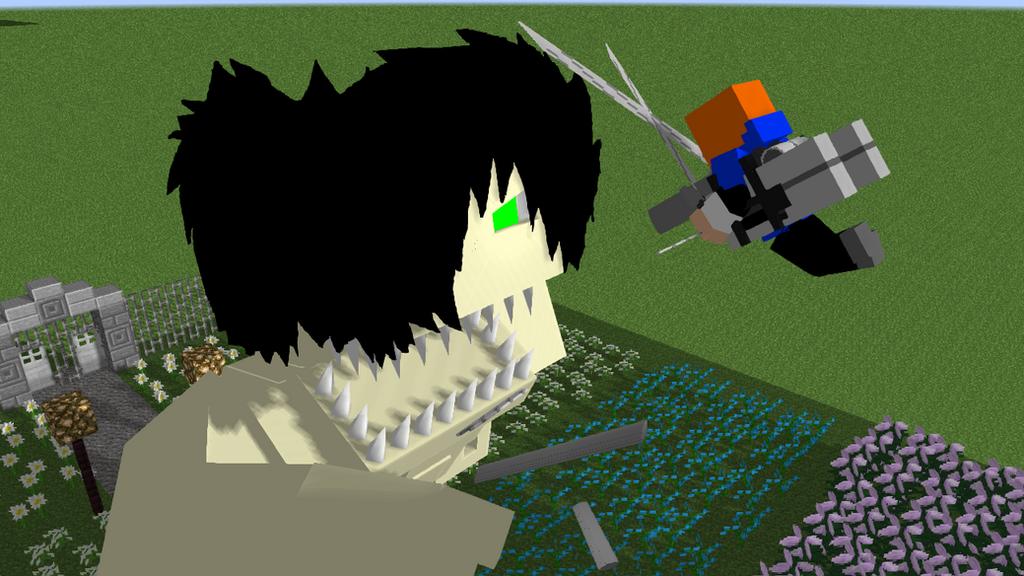 скачать attack on titan для minecraft 1.7.10 #7