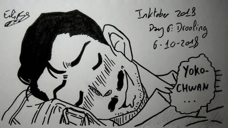 Day 6 - Drooling by Ai-Eclipse