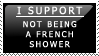 French Shower Stamp by PoisonTonicLX