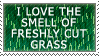Freshly Cut Grass Stamp by PoisonTonicLX