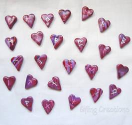 Heart Rune Stones