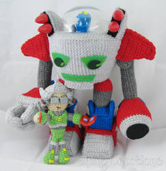 Ethan And Nathan - Robot Monster Tale Dolls
