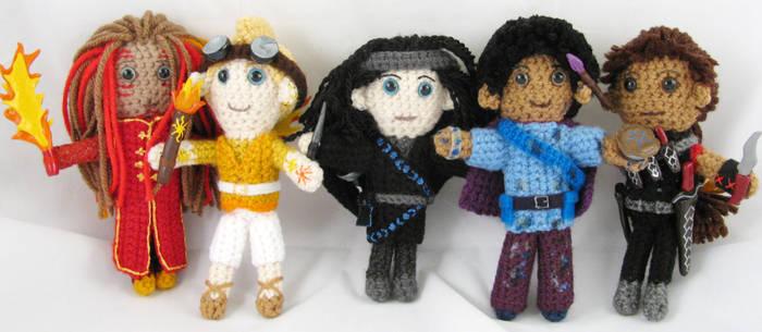 Writing Character Dolls