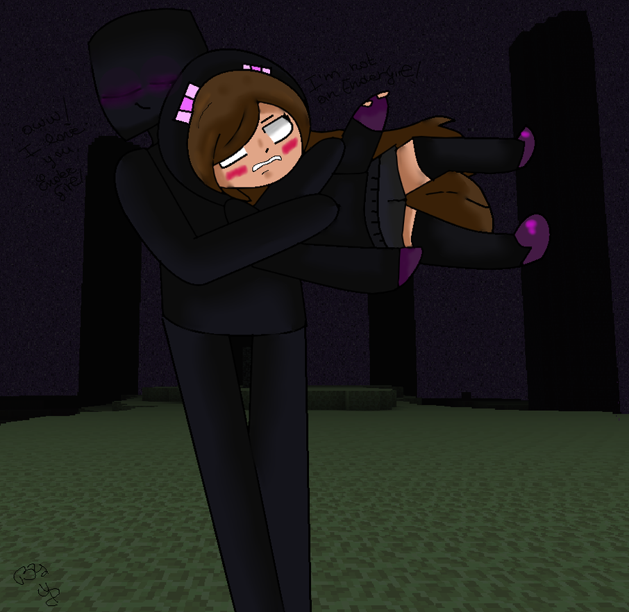 I Love You, Endergirl - Minecraft By Herogirlandherobrine On Deviantart-6592