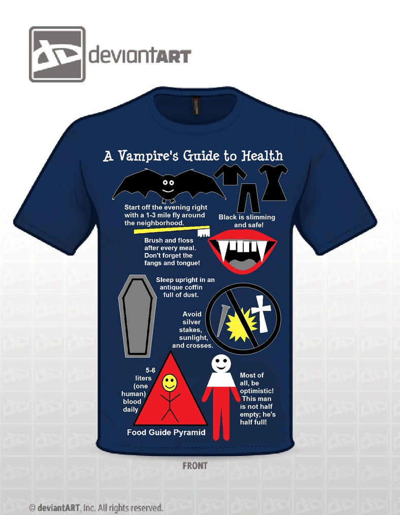 A Vampire's Guide to Health by Ballerinatwin3