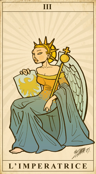 Tarot Jam: The Empress by lllaria