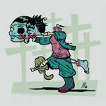 Zombie me by lllaria