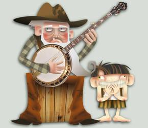 No Cowboy - character design 2 by lllaria