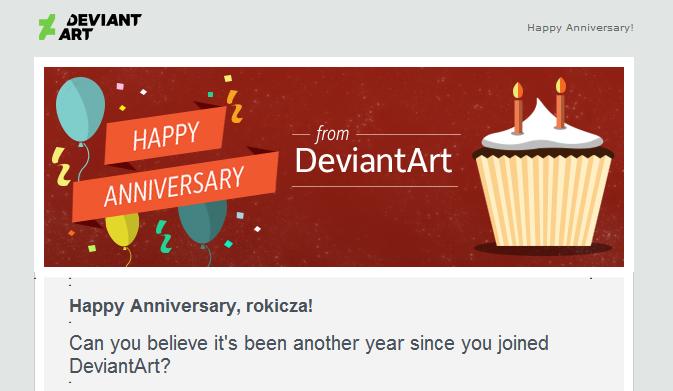 7 years at DeviantArt by rokicza