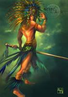 Aztec Warrior by Avasariah