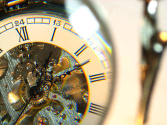 Time slipping away by littleweseth