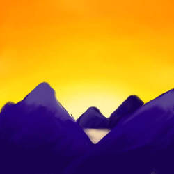 Sunset by littleweseth