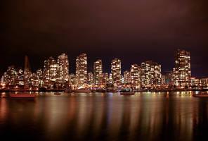 Downtown Vancouver by serban