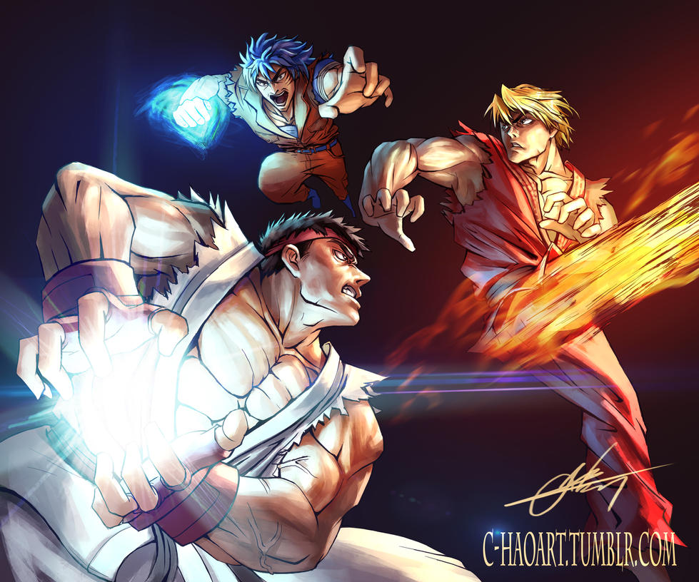 Street Fighter X Toriko By Mystery79 On DeviantArt