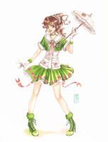 Sailor Lolita: Jupiter by raspberryMCMLXXXIV
