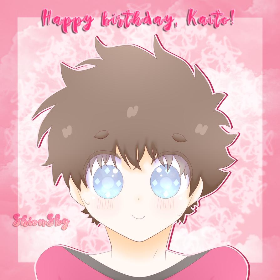 Happy birthday, Kaito! by ShionSky