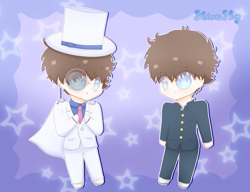Kaito Kuroba and Kaito Kid. by ShionSky