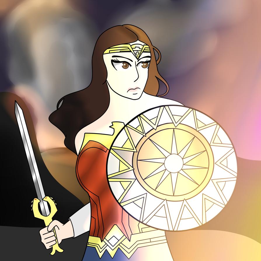 So Let's Talk About Wonder Woman by LittleTeenArtist