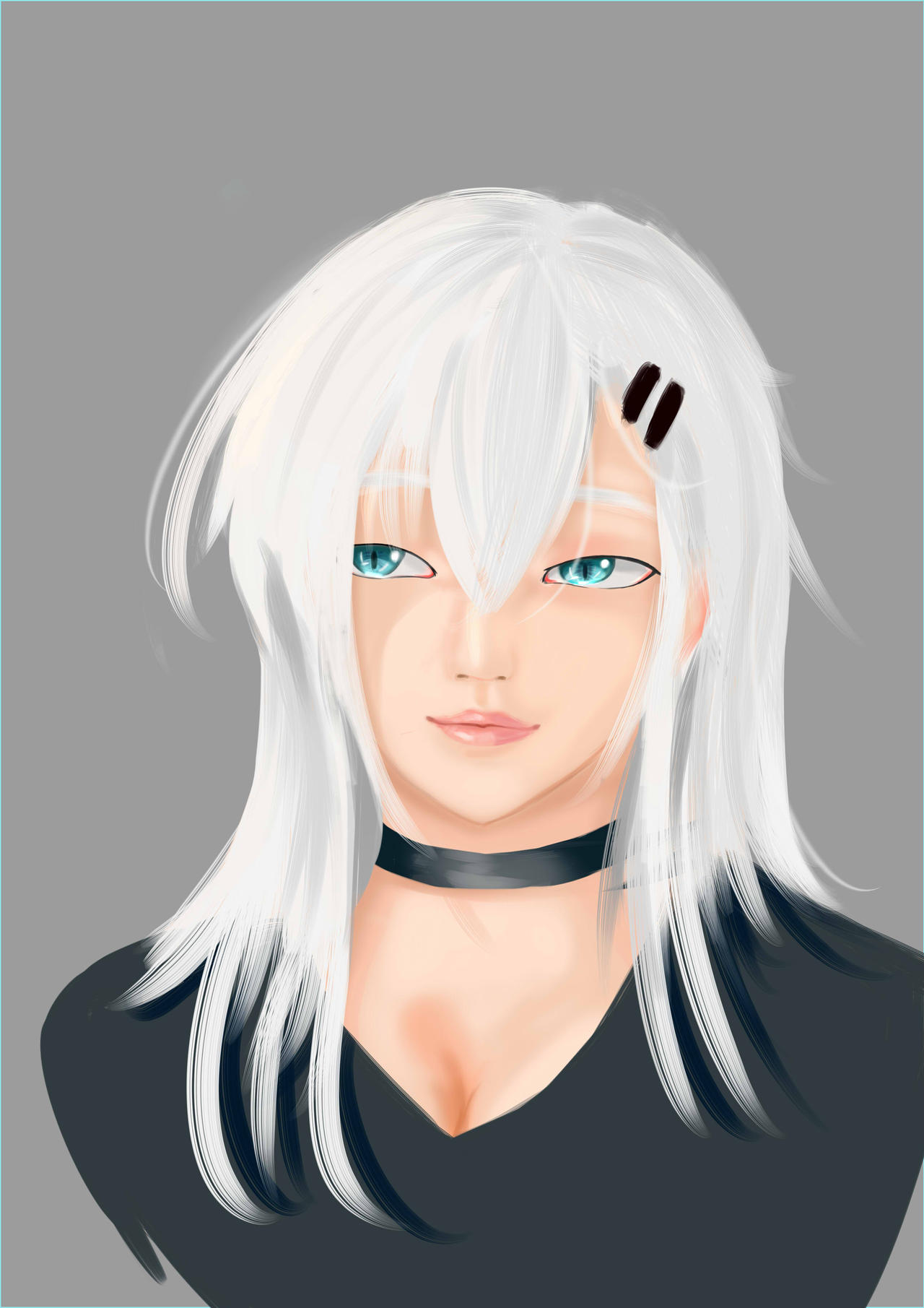 Ashley New Hair