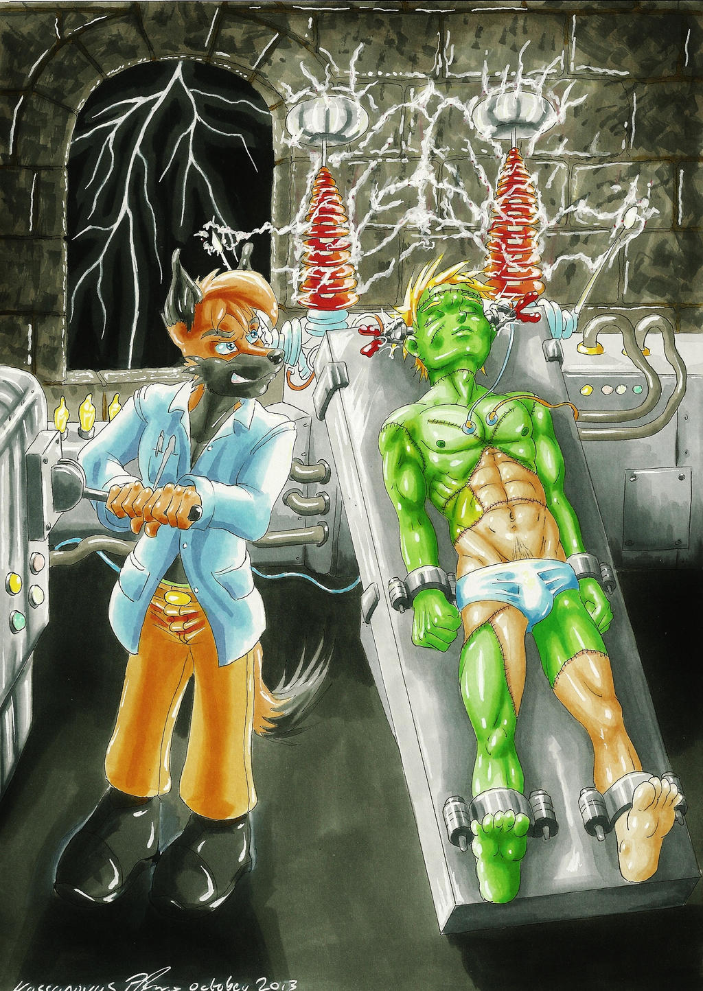 Mad Scientist by Kassanovas
