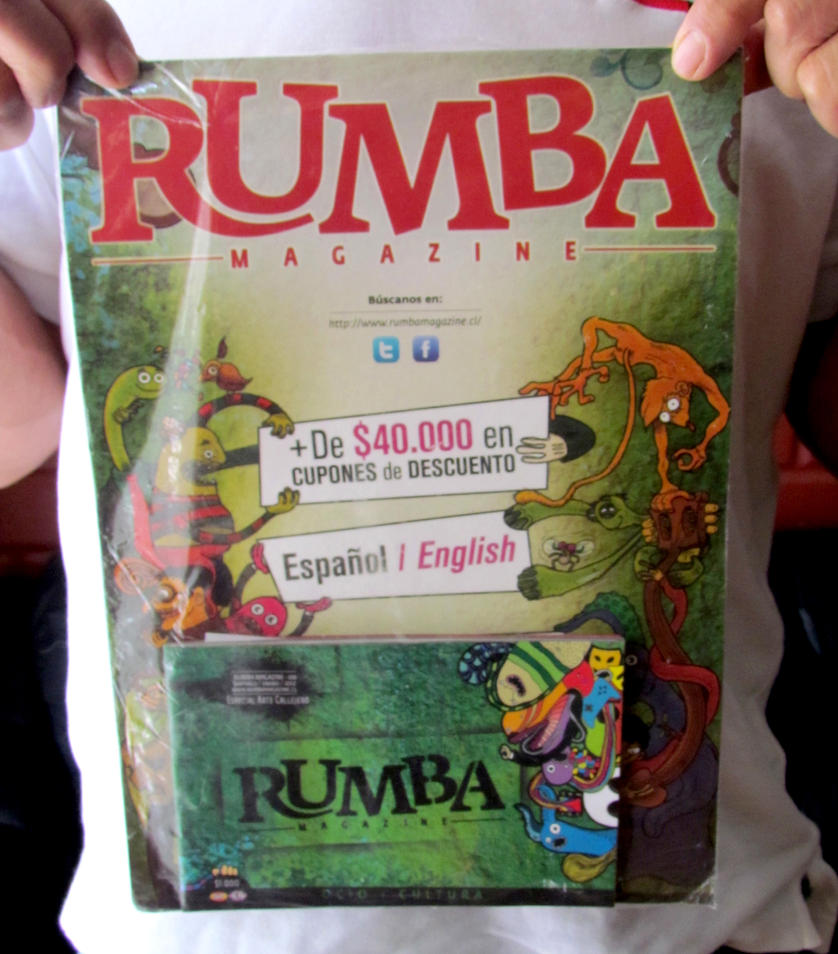 Afiche rumba magazine by crab87
