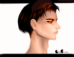 How did my sketch turn into Snk LEVI (OvO) !