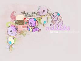 Cuddlehs the Plushie Kacheek by amy-grant