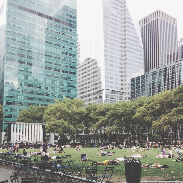 The Filtered Picture Of Bryant Park by gumimegpoid13