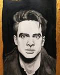 Brendon Urie - black ink