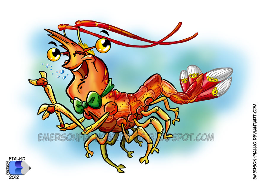 Shrimp / Camarao by Emerson-Fialho