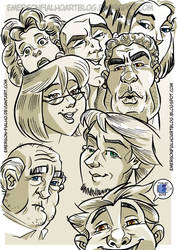 Facial Expressions by Emerson-Fialho