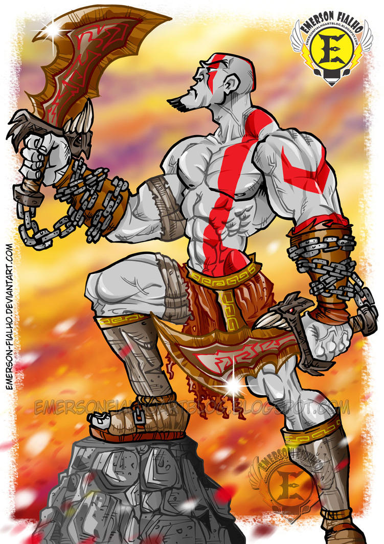 God of War - Kratos by Emerson-Fialho