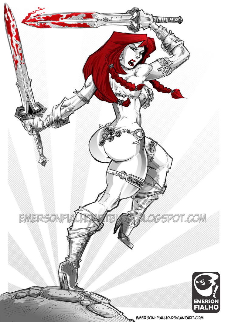 RED SONJA by Emerson-Fialho