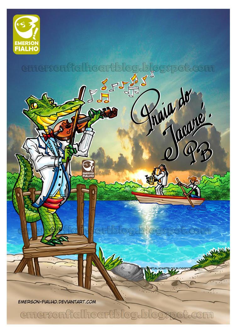 PRAIA DO JACARE - PB - BRASIL by Emerson-Fialho