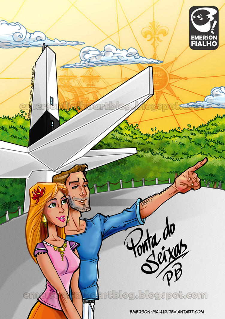 PONTA DO SEIXAS - PB - BRASIL by Emerson-Fialho