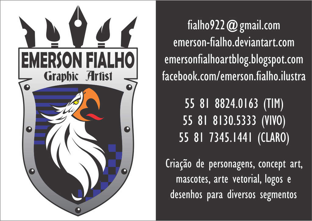 My New Logo 2015 by Emerson-Fialho