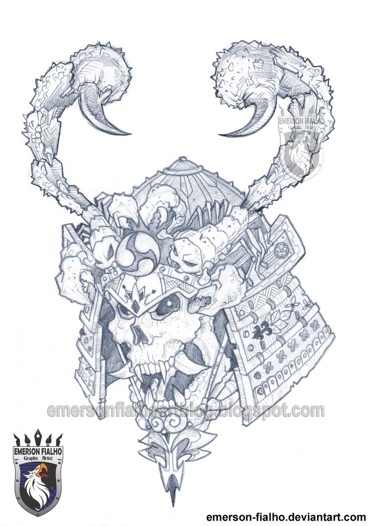 Samurai Tattoo by Emerson-Fialho