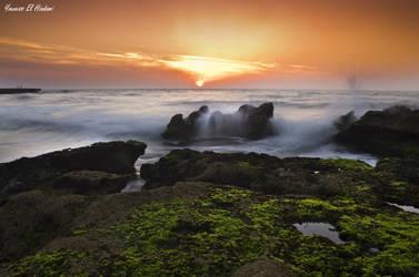Sunset - Skhirat by nessyou02