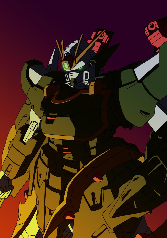 Gundam Nataku by gibac on DeviantArt