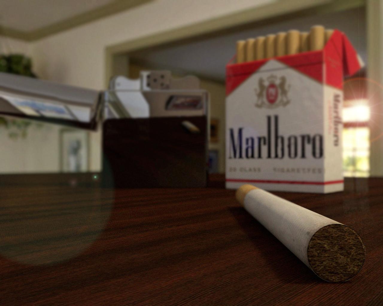 Marlboro Cigarette By Amitwati