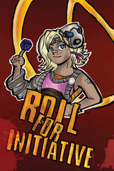 Roll for Initiative, Sucka! by VixenXYX